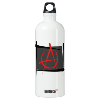 Anarchy Brush Flag Water Bottle