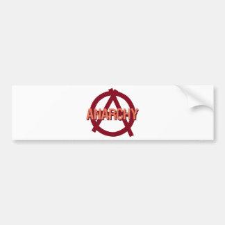 Anarchy Bumper Sticker