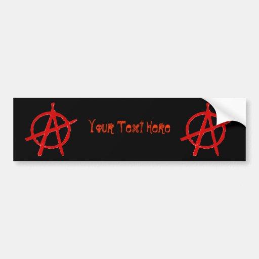 Anarchy Bumper Stickers