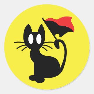 Anarchy Cat Sticker