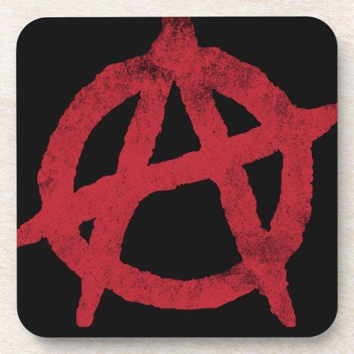 Anarchy Circle A Beverage Coaster