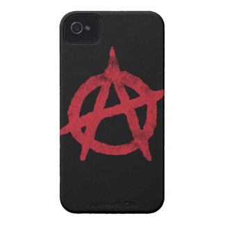 Anarchy Circle A Case-Mate iPhone 4 Case