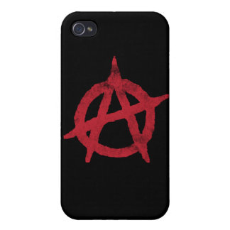 Anarchy Circle A iPhone 4/4S Case