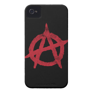 Anarchy Circle A iPhone 4 Cases