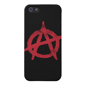 Anarchy Circle A iPhone 5/5S Case