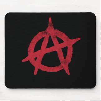Anarchy Circle A Mouse Pad
