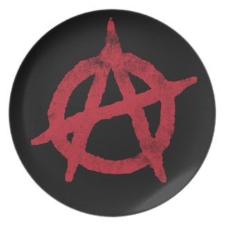 Anarchy Circle A Plate