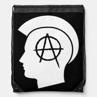 Anarchy Drawstring Bag