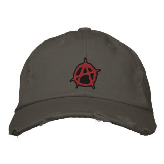 Anarchy Embroidered Baseball Cap
