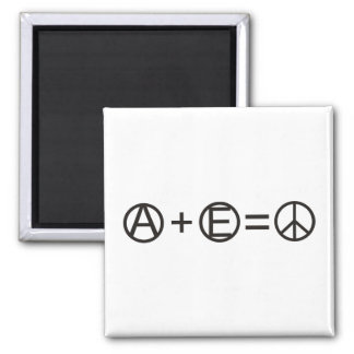Anarchy + Equality = Peace Magnet