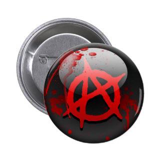 Anarchy Flag 2 Inch Round Button