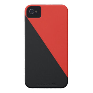 anarchy flag red black iPhone 4 case