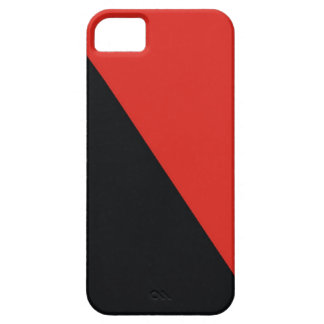 anarchy flag red black iPhone SE/5/5s case