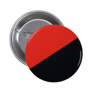 anarchy flag red black pinback button