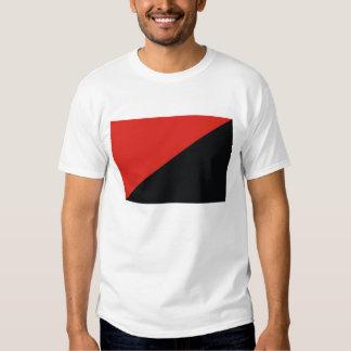 anarchy flag red black t-shirt
