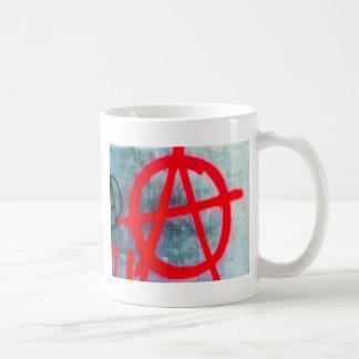 Anarchy Graffiti Coffee Mug