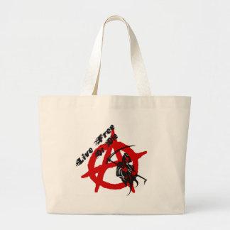 Anarchy Grim Reaper Canvas Bag