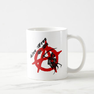 Anarchy Grim Reaper Coffee Mug