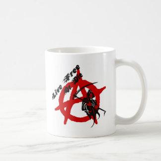 Anarchy Grim Reaper Classic White Coffee Mug