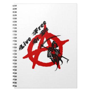 Anarchy Grim Reaper Notebook