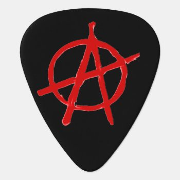 Anarchy Guitar Pick by JKcoder at Zazzle