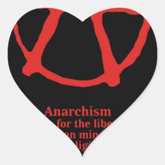 Anarchy Heart Sticker