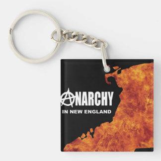 Anarchy in New England Keychain