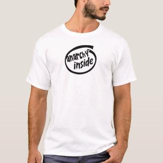 Anarchy inside logo T-Shirt