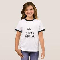 Anarchy Jr. Ringer T-Shirt