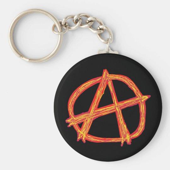 Anarchy Keychain Zazzle