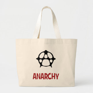 Anarchy ! large tote bag