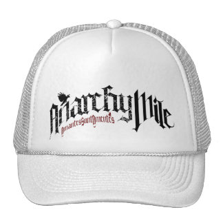 Anarchy Mile L are L Trucker Hat