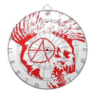 Anarchy Mohawk Skull Dart Boards