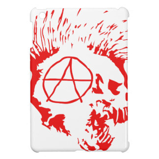 Anarchy Mohawk Skull iPad Mini Cases