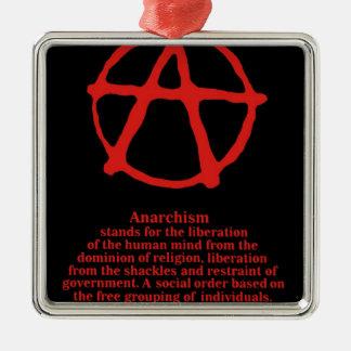 Anarchy Christmas Tree Ornament