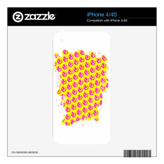 Anarchy Pattern iPhone 4S Decals