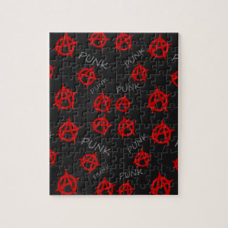 Anarchy pattern jigsaw puzzle