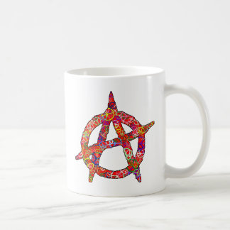Anarchy Peace Plain Coffee Mug