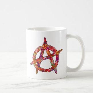 Anarchy Peace Plain Mug