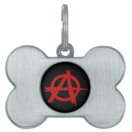 Anarchy Pet Tags