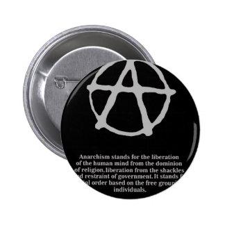 anarchy. pinback button
