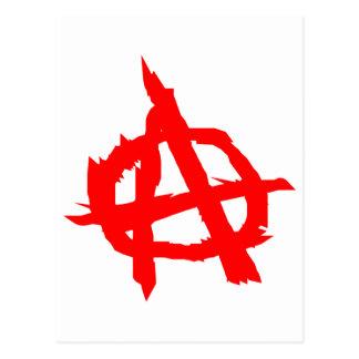 Anarchy Postcard