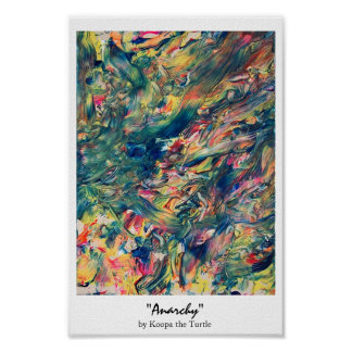 Anarchy print by Koopa the Turtle