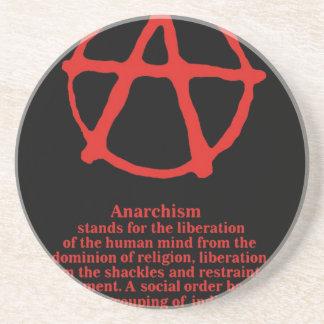 Anarchy Sandstone Coaster