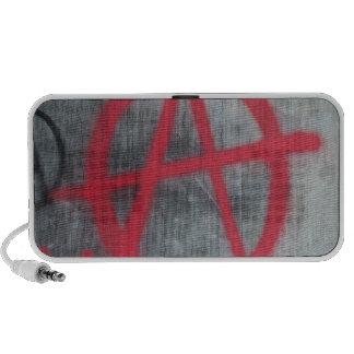 Anarchy Sign Laptop Speaker