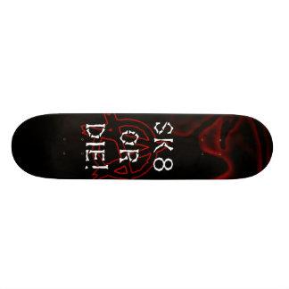 Anarchy Sk8 or Die Infra Red Skateboard