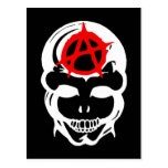 Anarchy Skull Postcards