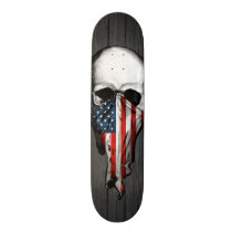 Anarchy Skull Skateboard