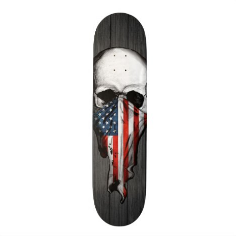 Anarchy Skull Skateboard