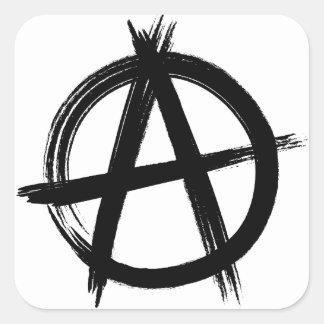 Anarchy Square Sticker